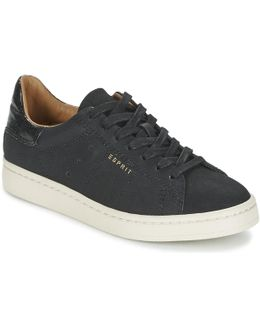 Gwen Lace Up Women's Shoes (trainers) In Black