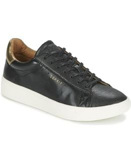 Lizette Lace Up Women's Shoes (trainers) In Black