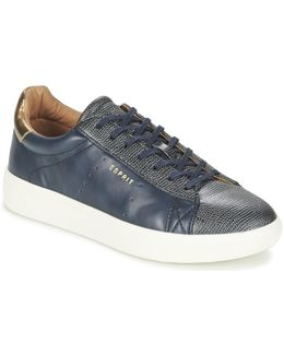 Lizette Lace Up Women's Shoes (trainers) In Blue