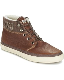 Jakob Men's Mid Boots In Brown