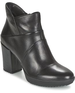 Oxy 6 Women's Low Ankle Boots In Black