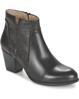 Macy 4 Women's Low Ankle Boots In Black