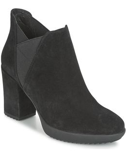 Oxy 5 Women's Low Ankle Boots In Black