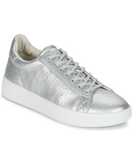 Lizette Lace Up Women's Shoes (trainers) In Silver