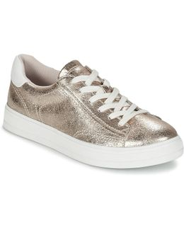 Sidney Lace Up Women's Shoes (trainers) In Gold