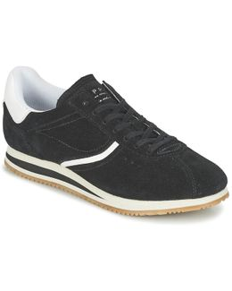 Amu Lace Up Women's Shoes (trainers) In Black