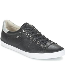 Miana Lace Up Women's Shoes (trainers) In Black