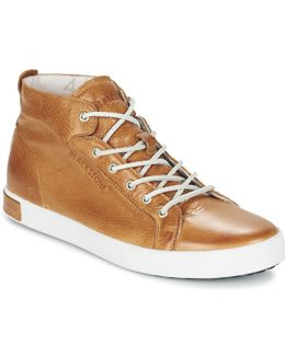 Jm03 Men's Shoes (high-top Trainers) In Brown