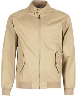 Harrington Men's Jacket In Beige