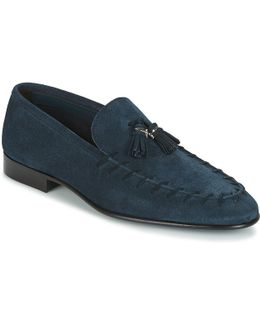 2052b Men's Loafers / Casual Shoes In Blue