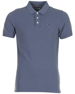 Thdm Basic Polo S/s 1 Men's Polo Shirt In Grey