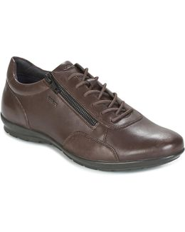 Uomo Symbol Men's Shoes (trainers) In Brown