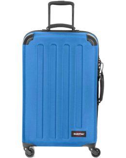Ek74b24m Trolley 4 Wheels Accessories Blue Women's Hard Suitcase In Blue