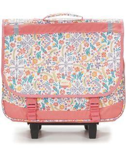 Green Monday Trolley Girls's Children's Rucksack In Pink