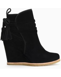 Tabitha Wedge Bootie