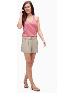 Cross Hatch High Waist Short