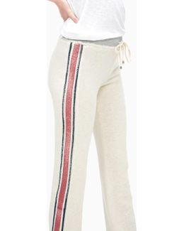 Vintage Roller Rugby Stripe Active Pant