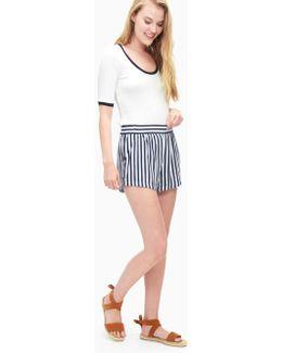 Boardwalk Stripe Short