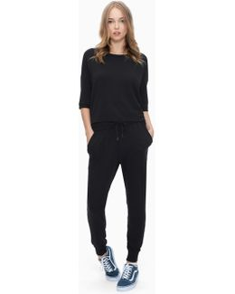 Super Soft Brushed French Terry Forward Seam Pant