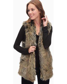 Westhaven Faux Fur Vest