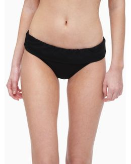 Stitch Solid Banded Bottom