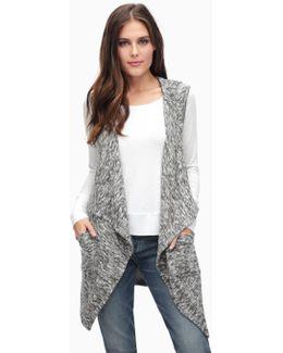 Silver Mountain Jersey Drape Vest