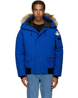 Blue Down Pbi Chilliwack Jacket