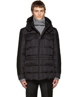Black Down Jacob Jacket
