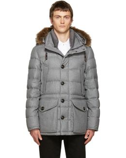 Grey Down Rethel Jacket