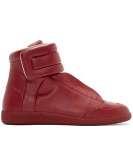Future Soft Leather High Top Sneakers
