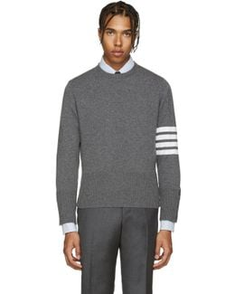 Grey Cashmere Pullover