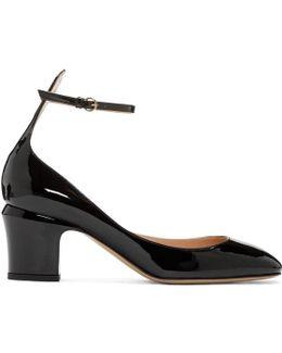 Black Patent Mary Jane Heels