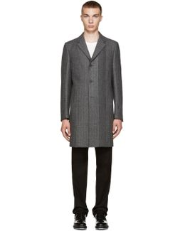 Grey Wool Munich Coat