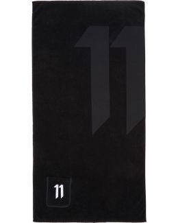 Black Logo Towel