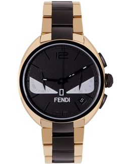 Gold & Black Momento Bugs Watch