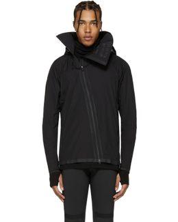 Black Airflow Hooded Jacket