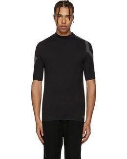 Black Merino T-shirt