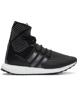 Black Approach Reflect High-top Sneakers