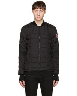 Black Down Dunhan Jacket