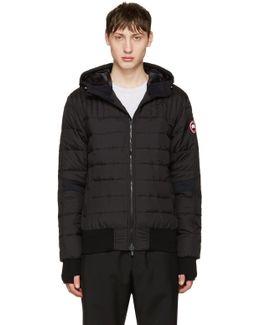 Black Down Cabri Jacket
