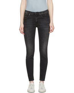 Black High Rise Jeans