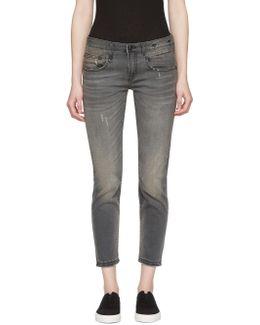 Grey Boy Skinny Jeans