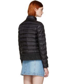Black Down Anemone Jacket