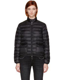 Black Down Lans Jacket