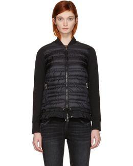 Black Down Panel Jacket