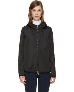 Black Vive Hooded Jacket