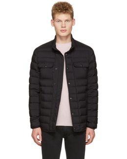 Black Down Faust Jacket