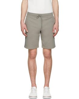 Grey Side Stripes Shorts