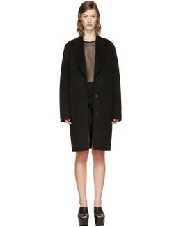Black Landi Doublé Coat