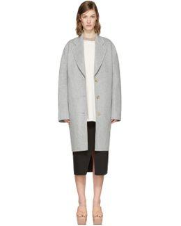 Grey Landi Doublé Coat